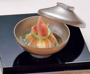海苔清汁仕立養老雲丹豆腐