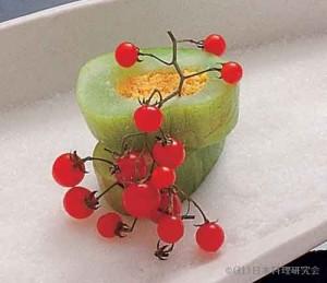 白瓜鋳込み唐墨マイクロトマト