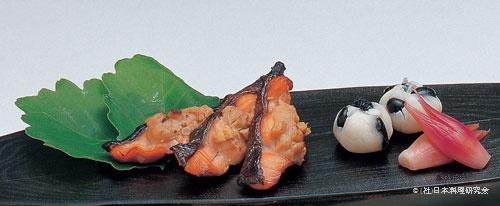 皐月鱒フォアグラ味噌焼