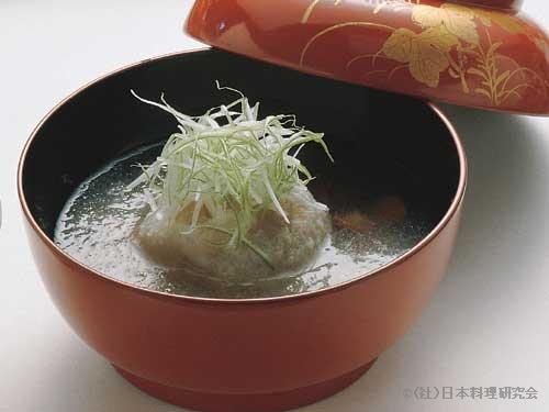蕎麦がき霙椀