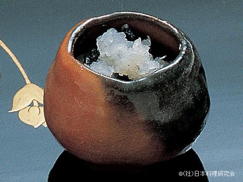 岩茸霙和え