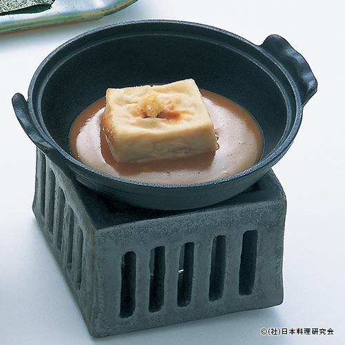 焼胡麻豆富