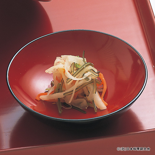 野菜の柚香漬