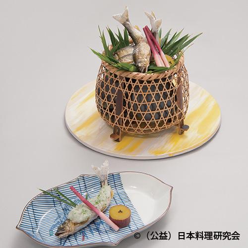鮎焼揚 蓼酢おろし(sample)