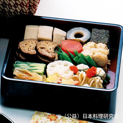 茶巾高野豆腐、大徳寺麩、小巻湯葉等