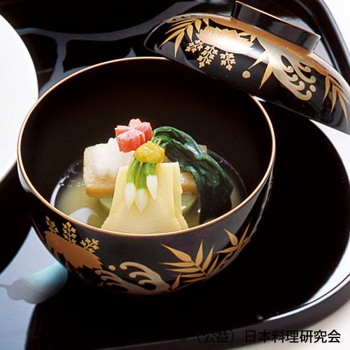 白味噌仕立餅鯨、蓬葛豆腐