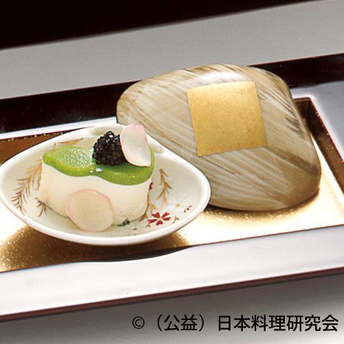 うすい豆チーズ豆腐二身