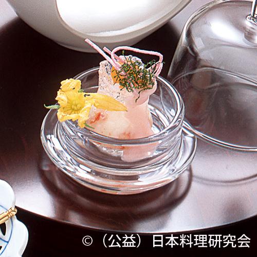 葛牡丹、紫蘇漬鶉玉