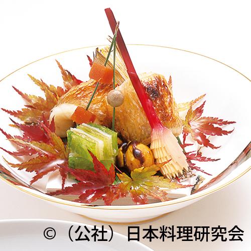 甘鯛肝油焼