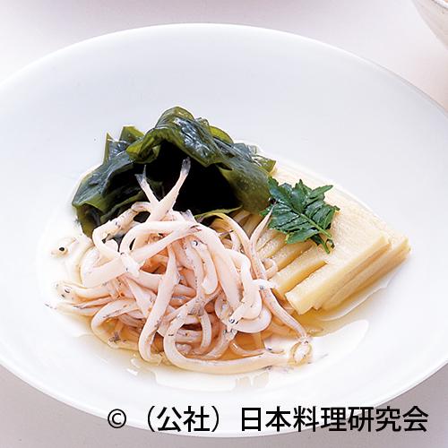 白魚紅梅煮