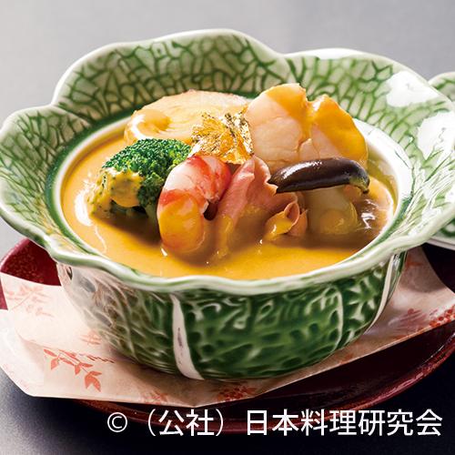 南瓜魚貝和風シチュー(sample)