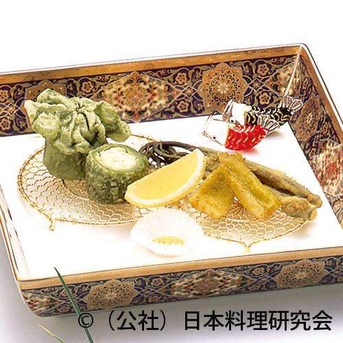 芝海老蓬饅頭