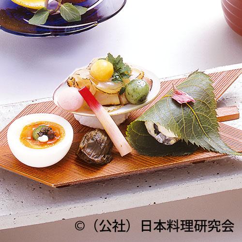 変り焼蛤、鰆桜花焼