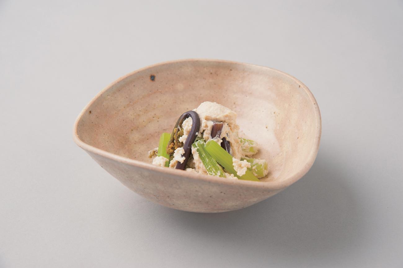 山菜の白和え(Sample)