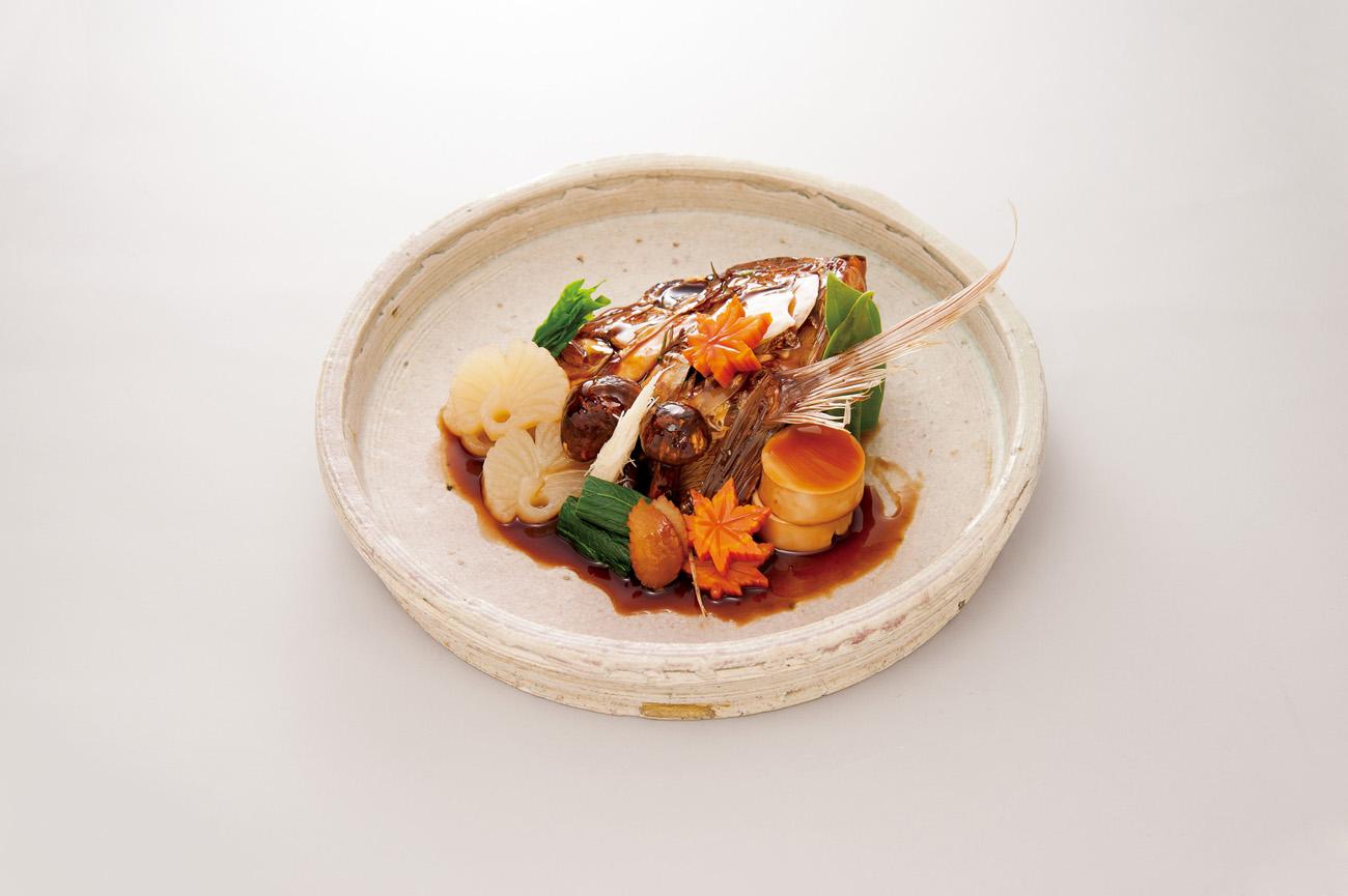 紅葉鯛兜煮(Sample)