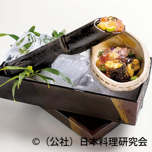 鰻・夏野菜酢の物