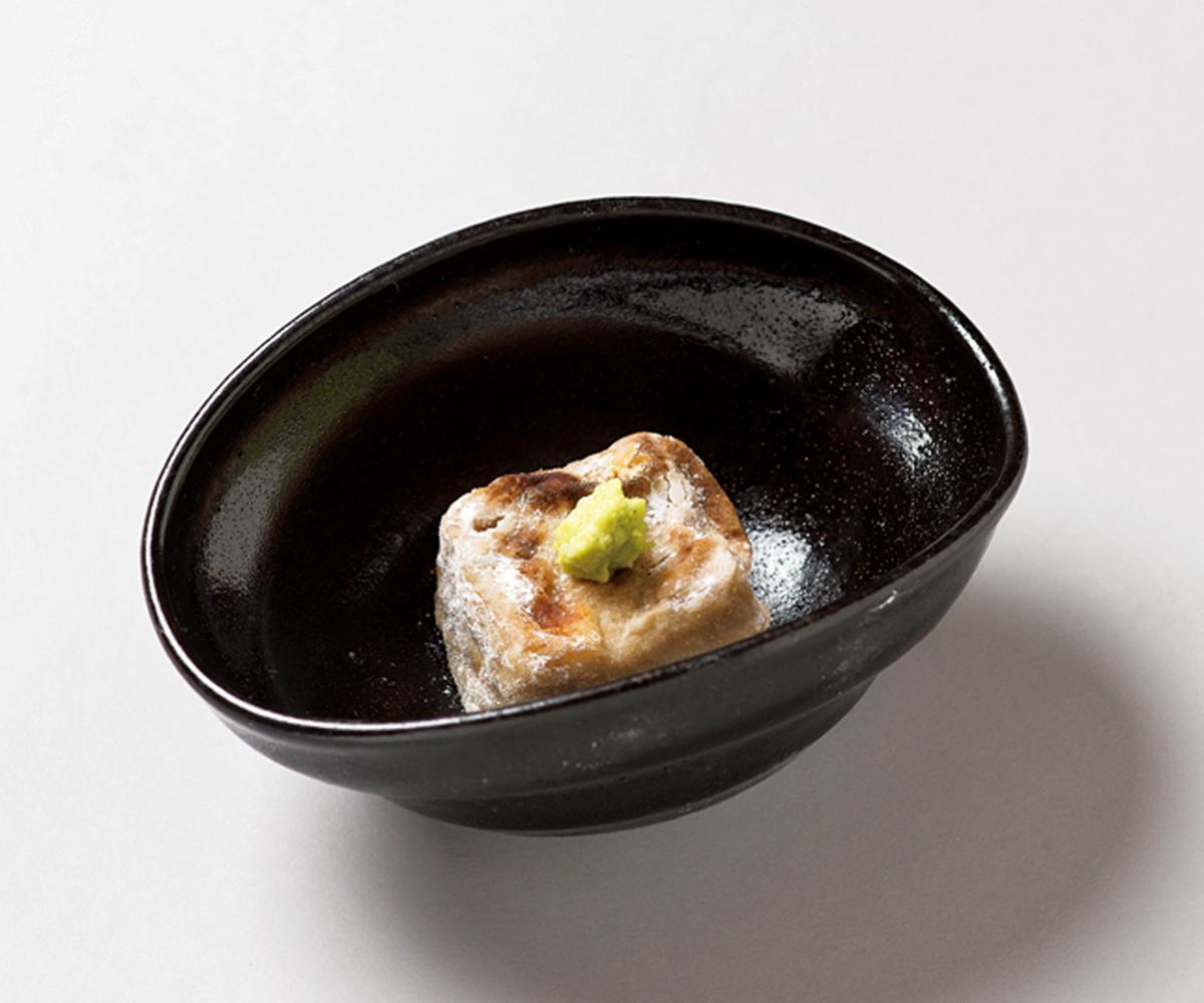 €€焼胡麻豆腐(湯島・くろぎ)