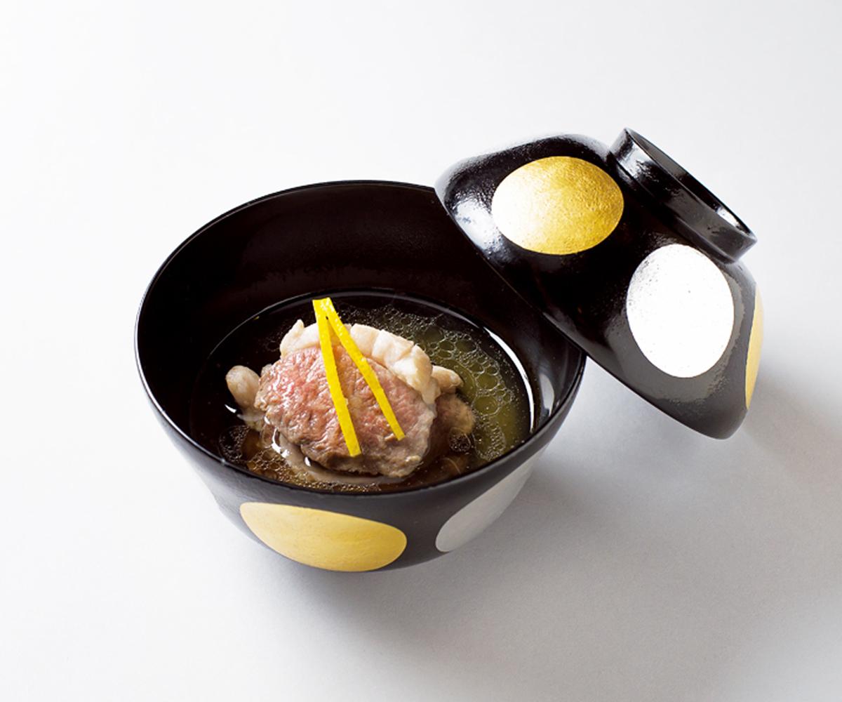 €€鴨の霙椀(湯島・くろぎ)