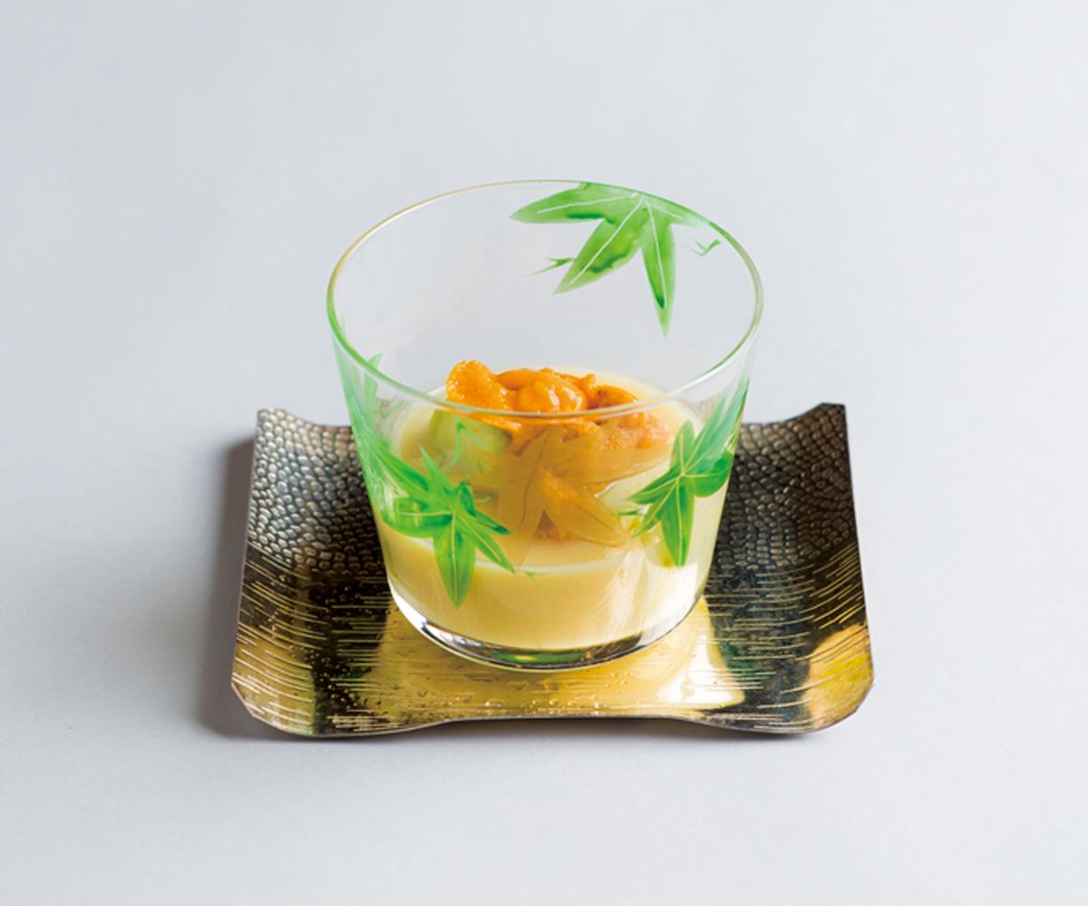 €€€€賀茂茄子冷製西京煮(世田谷・お料理春草)(Sample)