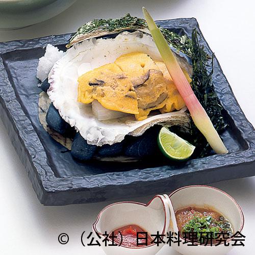 岩牡蠣黄身焼
