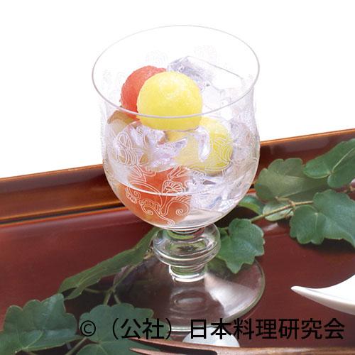 水玉果物氷サイダー
