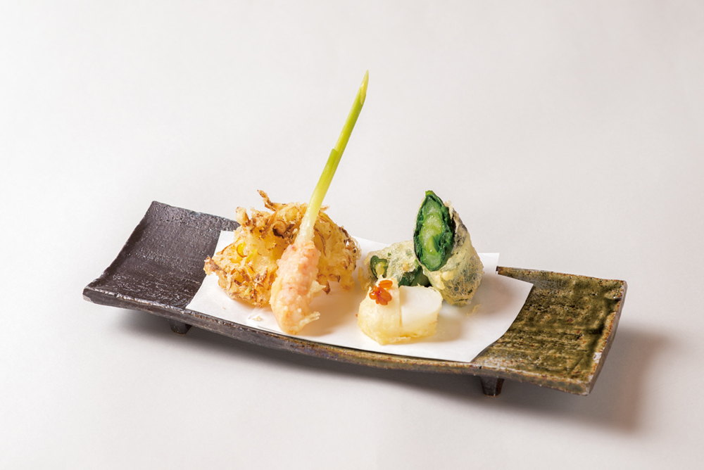 江戸伝統野菜天婦羅(Sample)