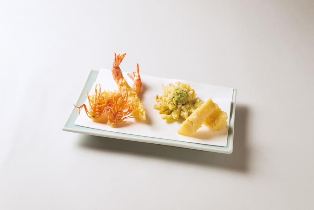 活巻天婦羅(筍、蕗の薹)(Sample)