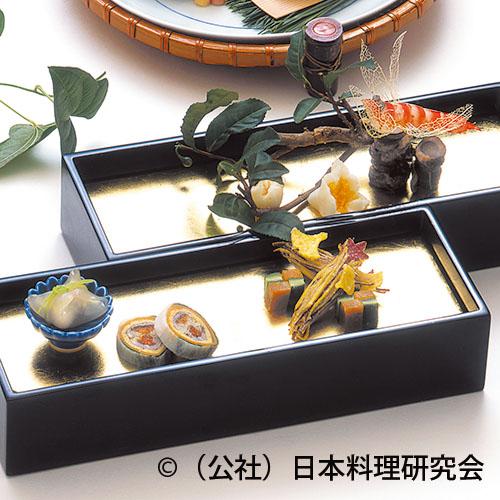 孔雀蝦蛄、茶花百合根、唐墨小メロン市松、零余子磯香り水仙