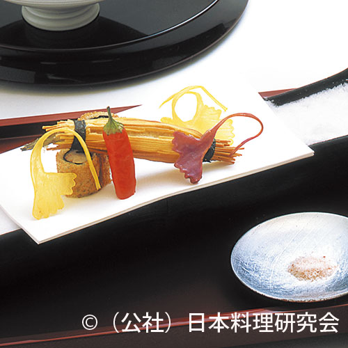 鞘巻海老のハトシ