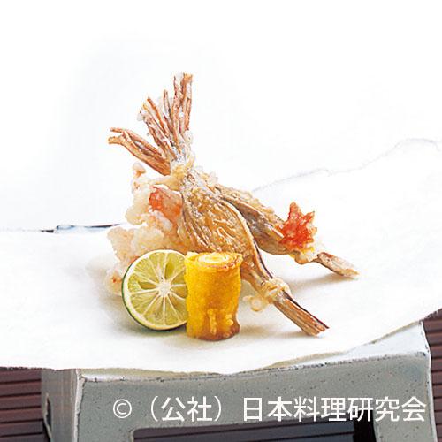 穴子牛蒡湯葉揚