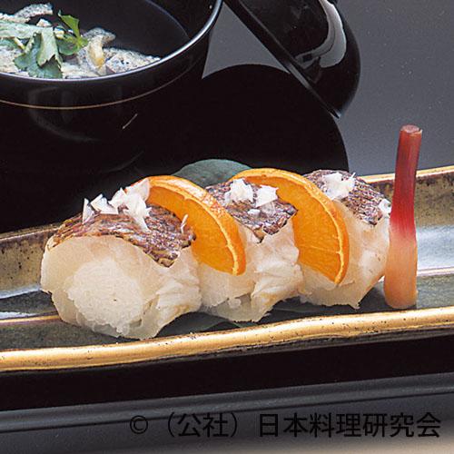 みかん鯛炙り寿司