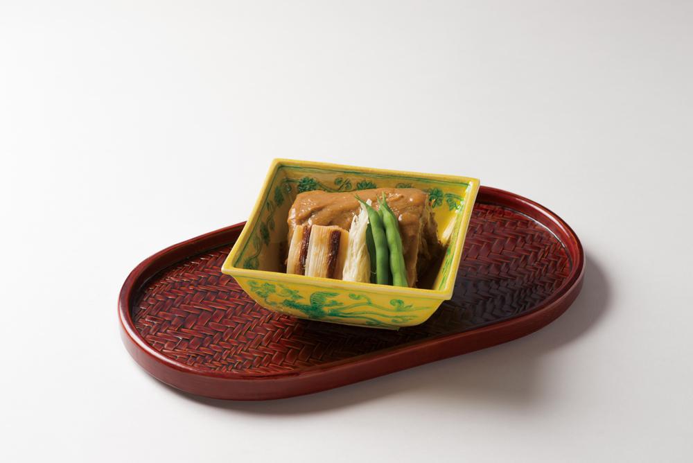 黒豚櫻煮(南瓜、赤万願寺、牛蒡)(Sample)