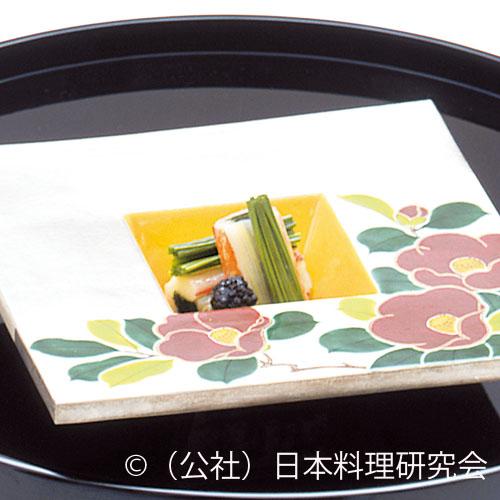 ずわい蟹・白菜菊菜巻