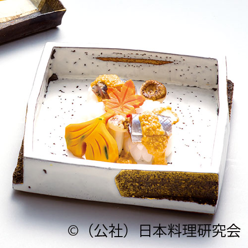 秋刀魚辛味和え