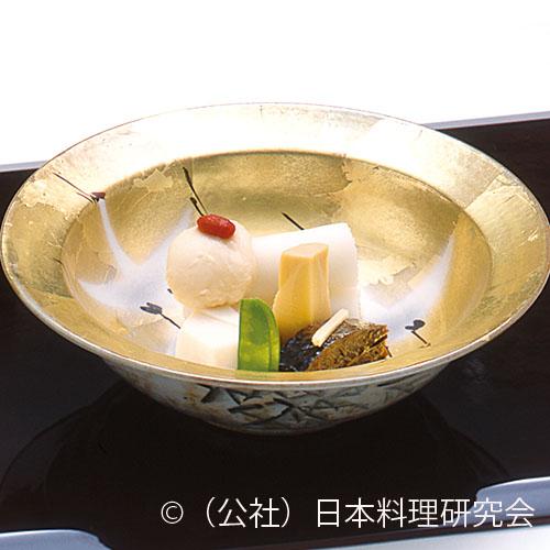 穴子奉書巻、鰊艶煮、鶴口里芋