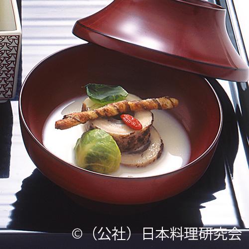 長州赤地鶏蒸し煮