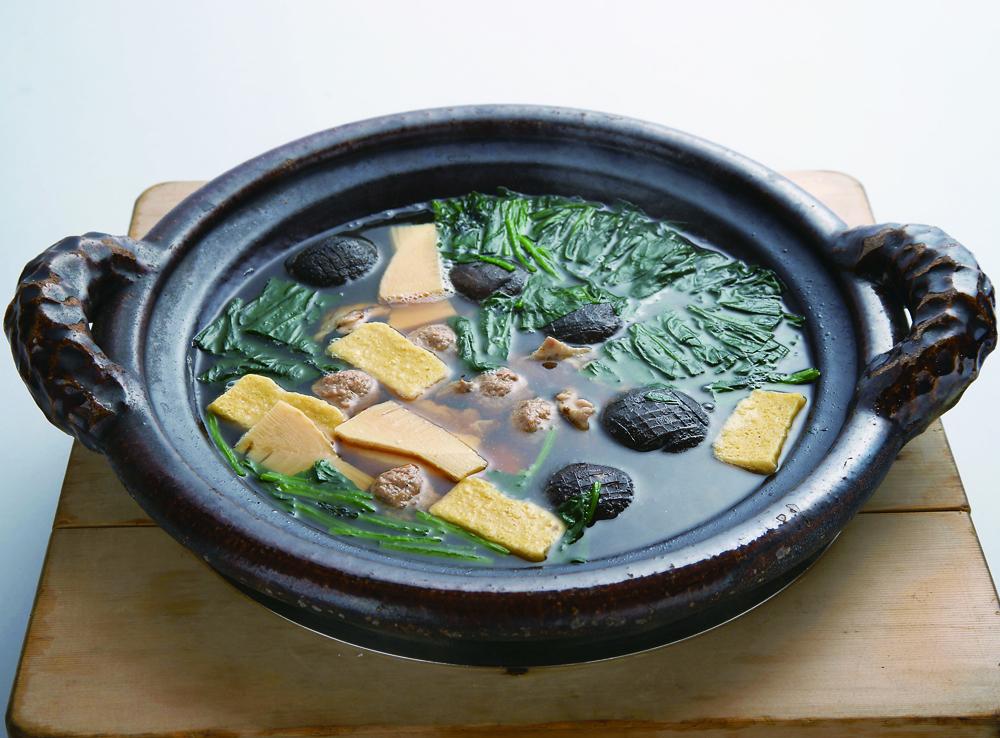鶉鍋 (新ばし 料亭「金田中」)(Sample)