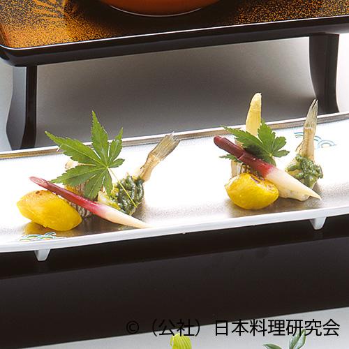鱚蓼味噌焼、太刀魚ホワイトアスパラ焼
