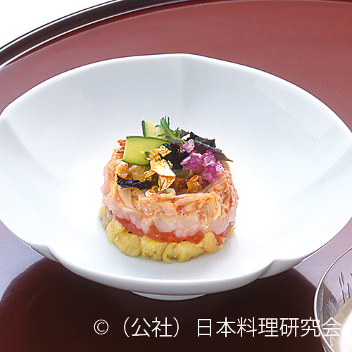 干瓢・夏野菜白和え