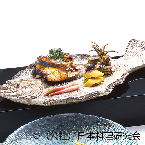 福子木の芽焼、鰻八幡巻