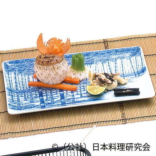 鱸深林焼、蕪印籠