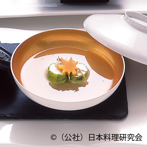 冬瓜擂流し、ずわい蟹糝薯白菜巻