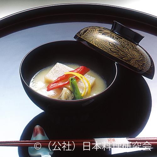 餅鯨白味噌仕立