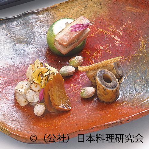 甘鯛丹波焼、合鴨ロース焼、牛蒡八幡巻
