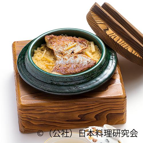 小鯛釜炊き御飯