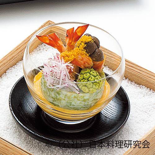 生海苔豆腐、海老旨煮