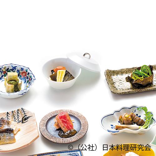 鰆昆布巻、鰊・独活筍松前煮、昆布籠山菜煮
