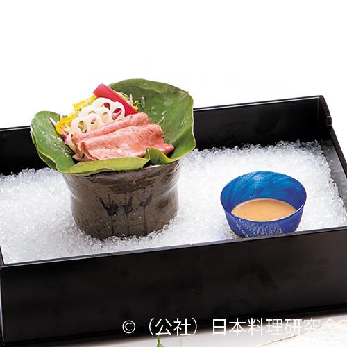夏野菜冷しゃぶ
