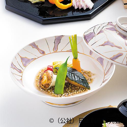 里芋旨煮、木の葉南瓜、国府白菜・鶏重ね煮、国分人参香梅煮、甘長唐辛子