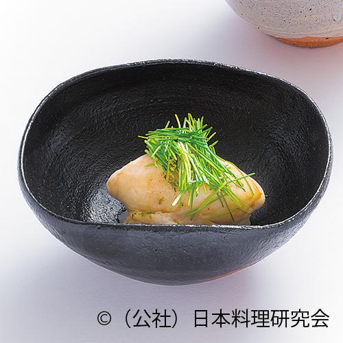 河豚白子蒸し寿司